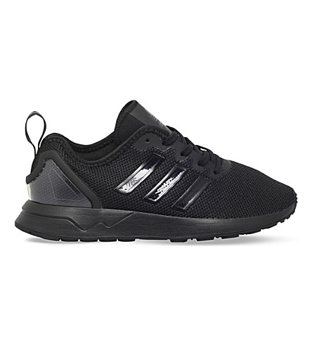 ADIDAS ZX Flux ADV mesh trainers 4-9 years (Black