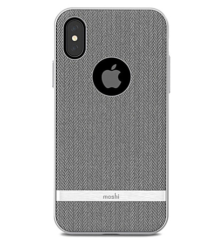 MOSHI Vesta iPhone X case (Grey