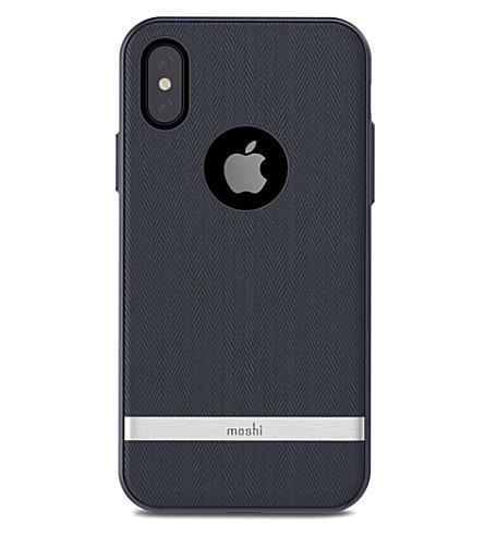 MOSHI Vesta iPhone X case (Bahama+blue