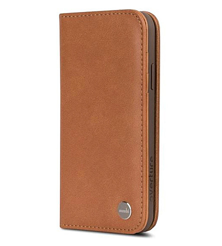 MOSHI Overture iPhone X case (Saddle+brown