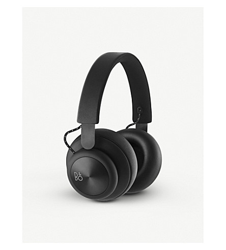B&O PLAY BY BANG & OLUFSEN Beoplay H4 over-ear leather bluetooth headphones (Black
