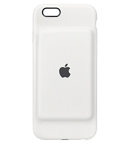 APPLE iPhone 6/6s smart battery case white (White