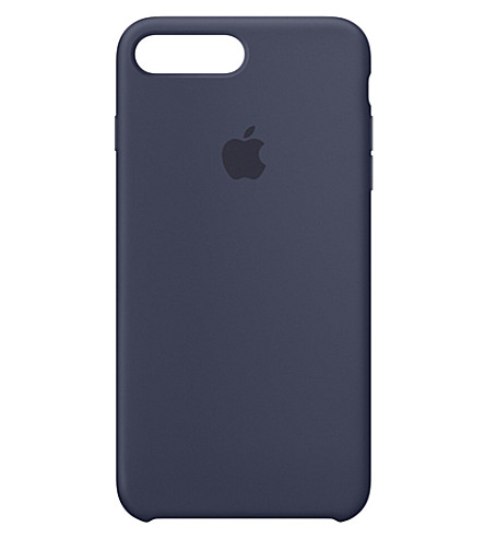 APPLE iPhone 7 plus silicone case (Midnight+blue