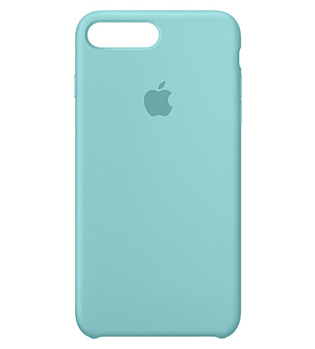 APPLE iPhone 7 plus silicone case (Sea+blue