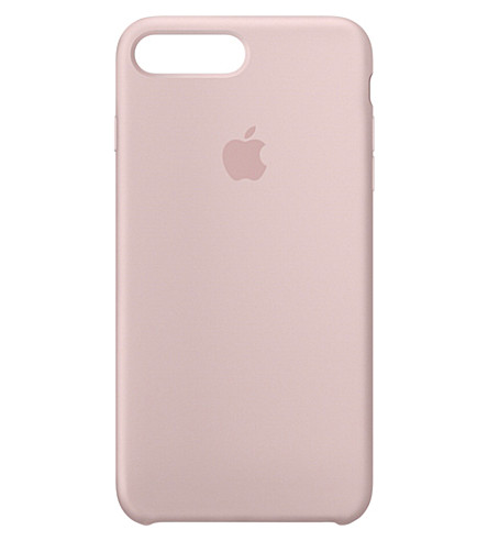 APPLE iPhone 7 plus silicone case (Pink+sand