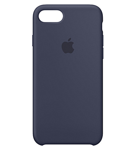 APPLE iPhone 7 silicone case (Midnight+blue