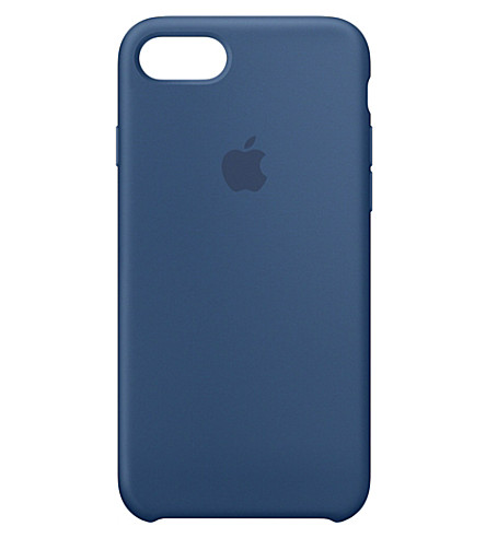 APPLE iPhone 7 silicone case (Ocean+blue
