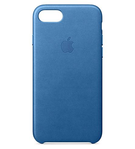 APPLE iPhone 7 leather case (Sea+blue