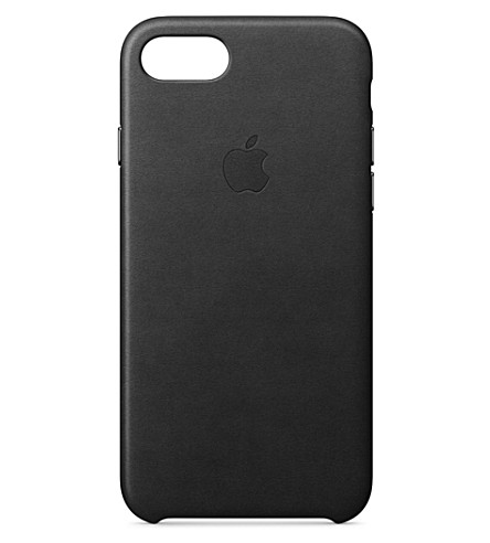 APPLE iPhone 7 leather case (Black