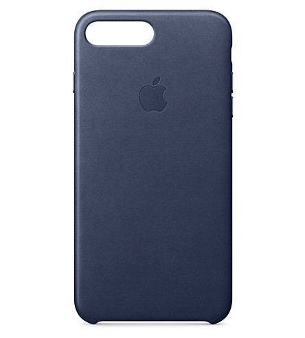 APPLE iPhone 7 plus leather case (Midnight+blu