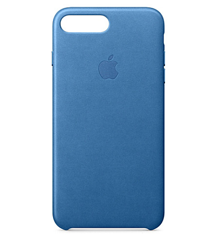 APPLE iPhone 7 plus leather case (Sea+blue