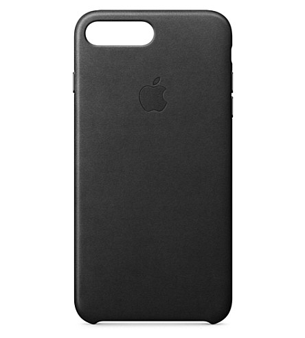APPLE iPhone 7 plus leather case (Black