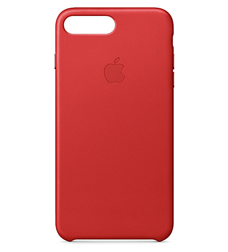 APPLE iPhone 7 plus leather case (Red