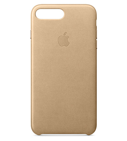 APPLE iPhone 7 plus leather case (Tan