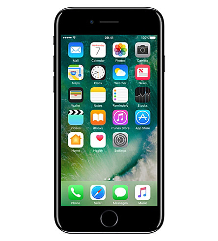 APPLE iPhone 7 128GB jet black (Jet+black