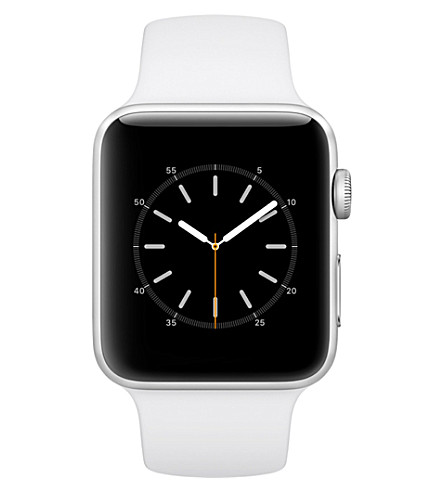 APPLE Series 2 silver aluminium 42mm Apple Watch (White