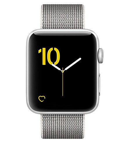 APPLE Series 2 silver aluminium 42mm Apple Watch (Pearl