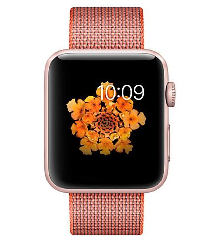 APPLE Apple Watch Series 2 (Orange/anthracite
