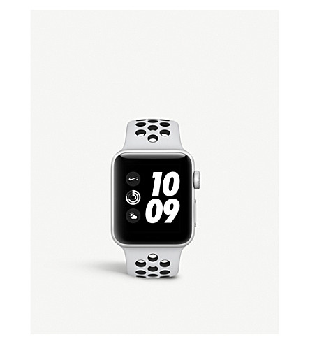 APPLE Series 3 Apple Watch Nike+ 38 silver aluminium (Silver