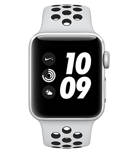 APPLE Series 2 Apple Watch Nike+ 42 silver aluminium (Silver