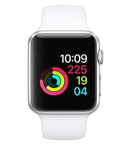 APPLE Series 3 Apple Watch 42 silver aluminium (Soft+white