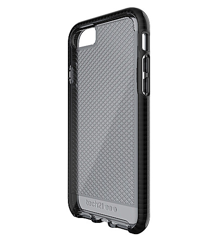 TECH21 Evo Check iPhone 7 case (Smokey+/+black