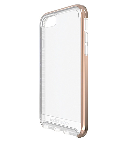 TECH21 Evo Elite iPhone 7 case (Polished+rose+gold