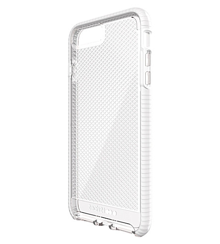 TECH21 Evo Check iPhone 7 plus case (Clear+/+white