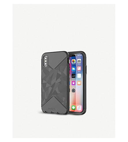 TECH21 Evo Tactical iPhone X case (Black