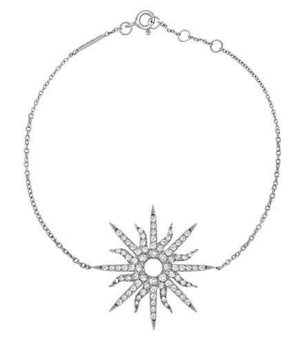 CHRISTINA DEBS Sunshine 18ct white-gold and diamond bracelet