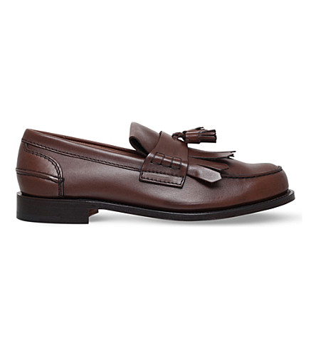CHURCH Oreham leather loafers (Brown