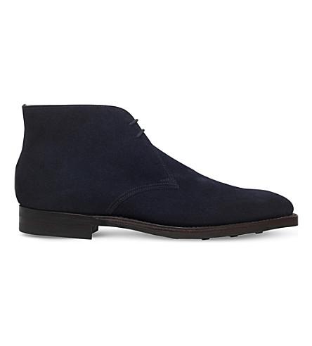 CROCKETT & JONES Tetbury suede chukka boots