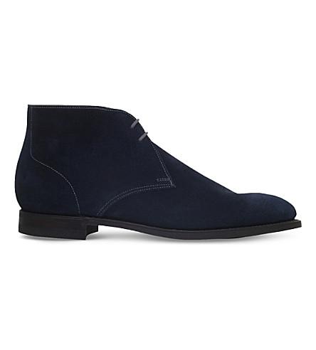 CROCKETT & JONES Hayle unlined suede chukka boots