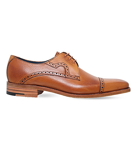 BARKER Opollo leather Derby shoes