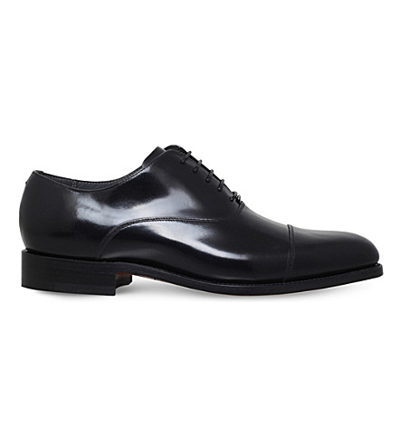BARKER Windsford leather oxford shoes (Black