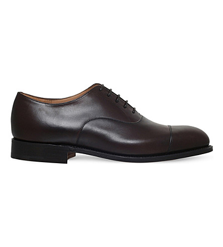 CHURCH Consul leather oxford shoes (Brown