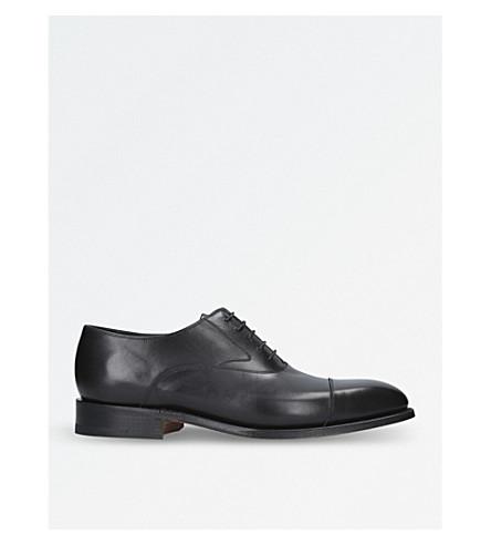 BARKER Falsgrave leather Oxford shoes (Black