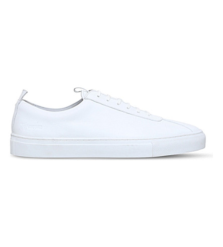 GRENSON Sneaker 1 low-top leather trainers (White