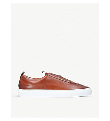 GRENSON Sneaker 1 low-top leather trainers (Tan