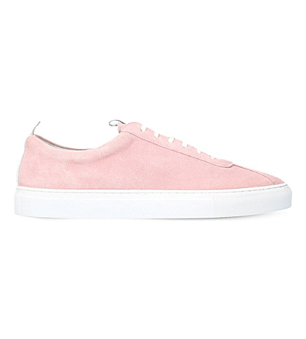 GRENSON Sneaker 1 suede trainers (Pink