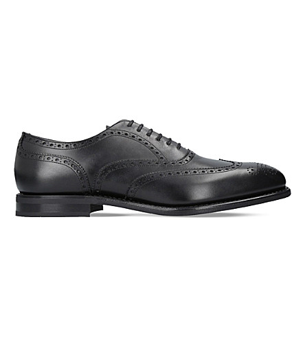 CHURCH Parkstone leather Oxford shoes (Black