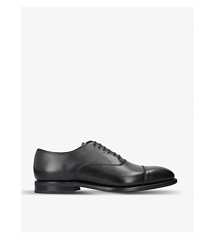 CHURCH Pamington leather Oxford shoes (Black