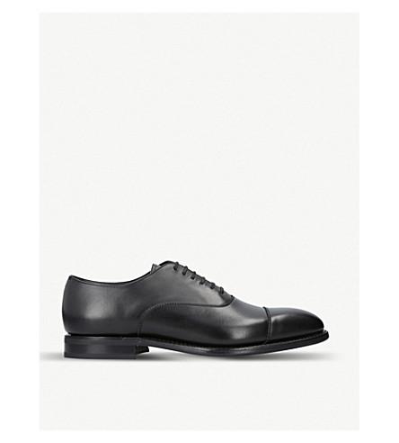 CHURCH Pamington leather Oxford shoes (Black