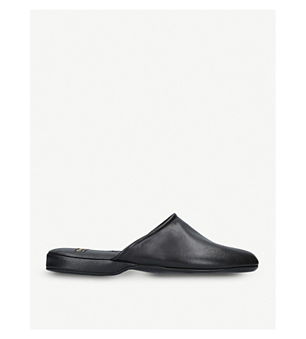 CHURCH Arran leather slipper (Black