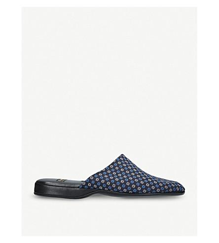 CHURCH Arran leather slipper (Blue