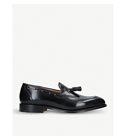 CHURCH Kingsley 2 tassel leather loafers (Black