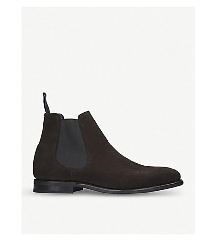 CHURCH Prenton suede Chelsea boots (Brown