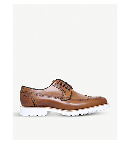 BARKER Hawk leather brogues (Tan