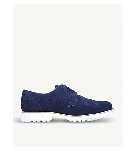 BARKER Hawk leather brogues (Navy
