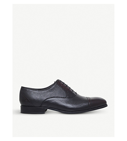 BARKER Phoenix leather oxford shoes (Blk/other